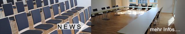 Koller-Objektmöbel stattet die Seminar- und Schulungsräume des Samariterbundes Tirol mit Stapelsessel und Klapptischen aus.