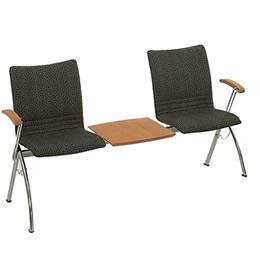 Reversa_Wartebereichssitzmöbel gepolstert mit Textilbezug