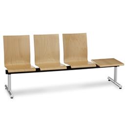 Wartebereichsmoebel Bank für Wartebereiche Sitzflächen verbunden