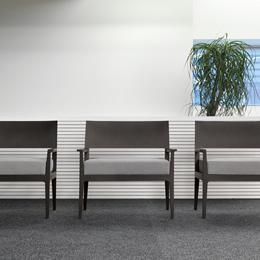 Wartebereichsmöbel Sessel mit Sitzpolster