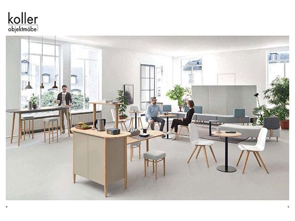 Möbel für Kommunikation und Mittelzonen