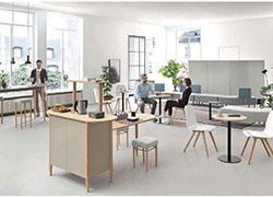 Möbel für Kommunikation und Mittelzonen - Koller Objektmöbel