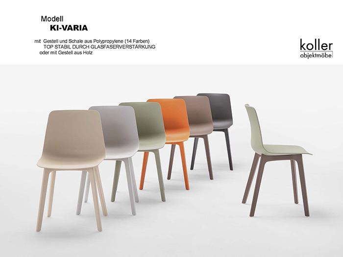 Koller Objektmöbel - Kunststoff Stuhl Kl-Varia